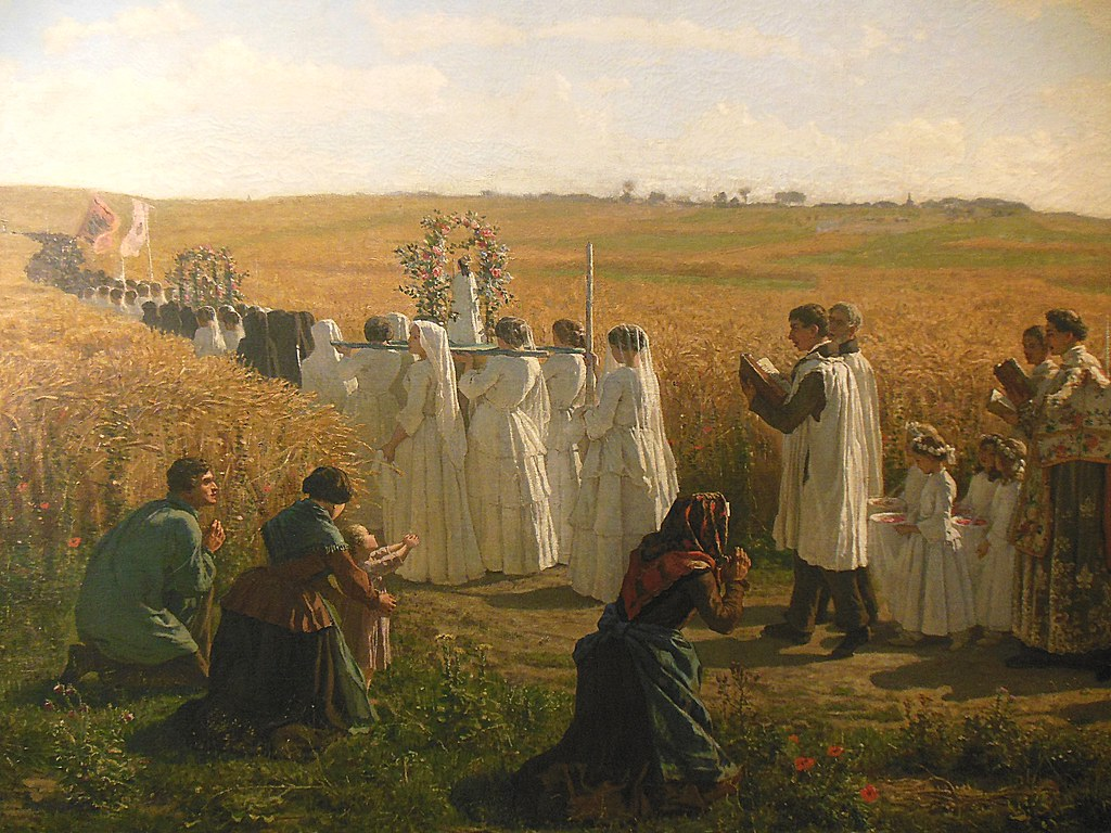 Rogation Procession Beltain